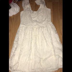Lace hollister dress